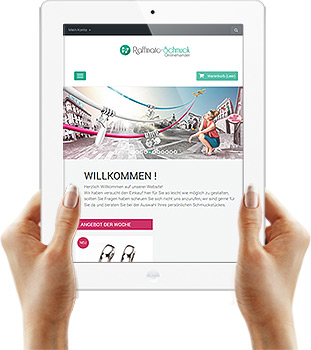 Webdesign Referenz - Ipad