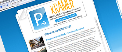 Parkplatz Kramer Informationsseite